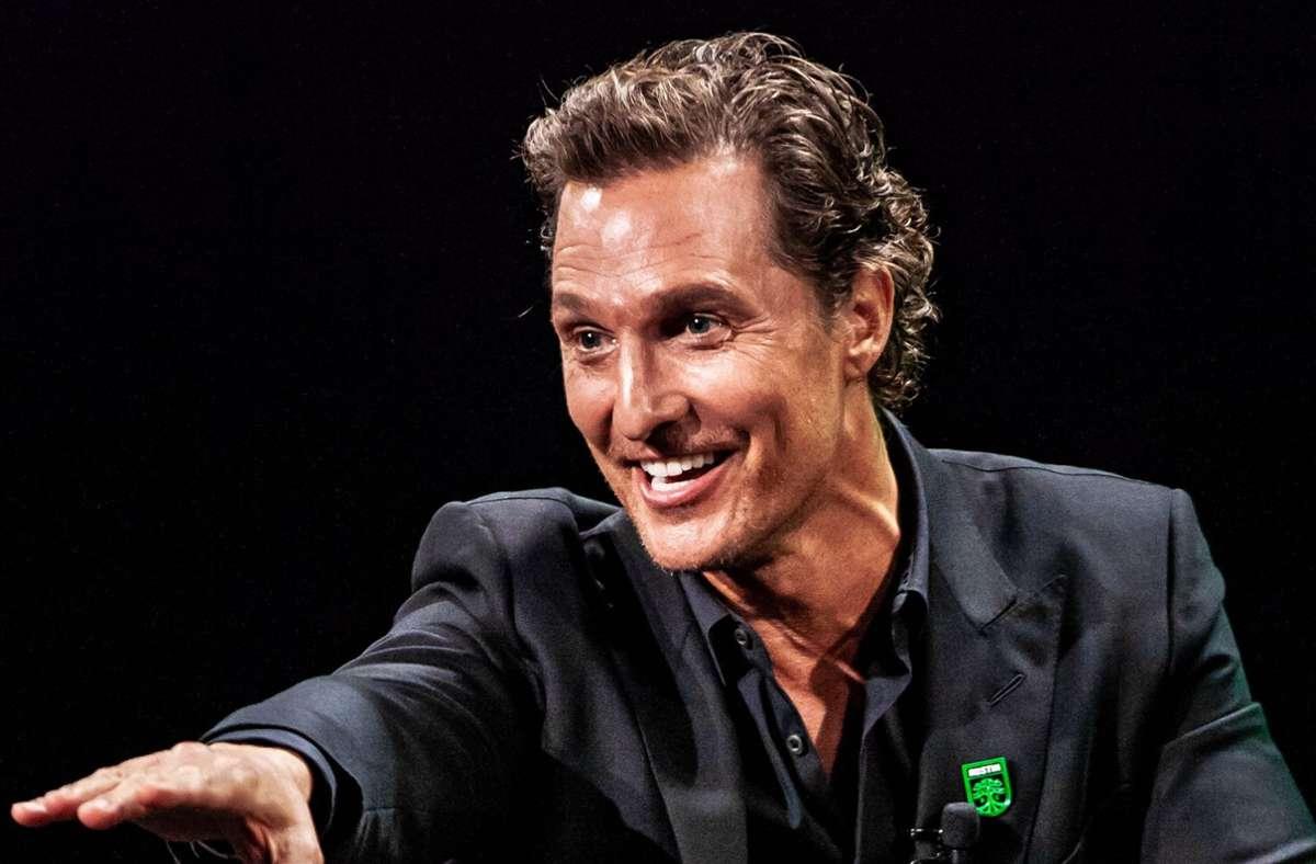 Schauspieler Matthew McConaughey (Archivbild) Foto: dpa/Michael Mullenix