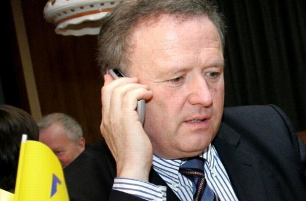 Einst Kommunalpolitiker, heute Berater: Klaus Brodbeck Foto: dpa