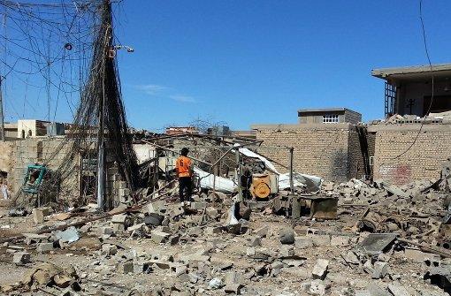 260 IS-Fahrzeuge bei Luftangriffen zerstört