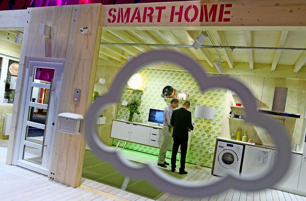 Im intelligenten Zuhause hilft die Technik beim Energiesparen. Foto: dpa