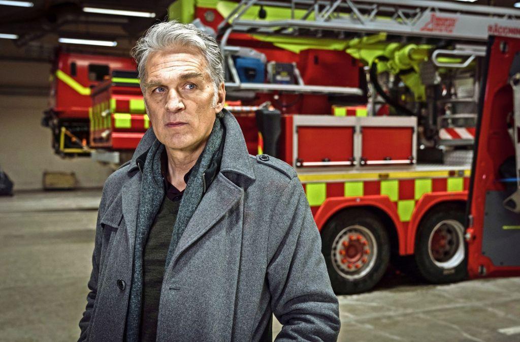 Der Kommissar Robert Anders (Walter Sittler) denkt nach. Foto: ZDF