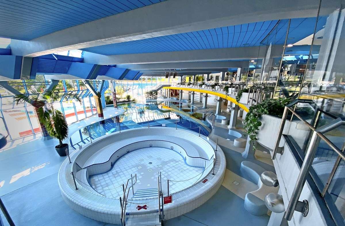 Schwimmbäder Corona