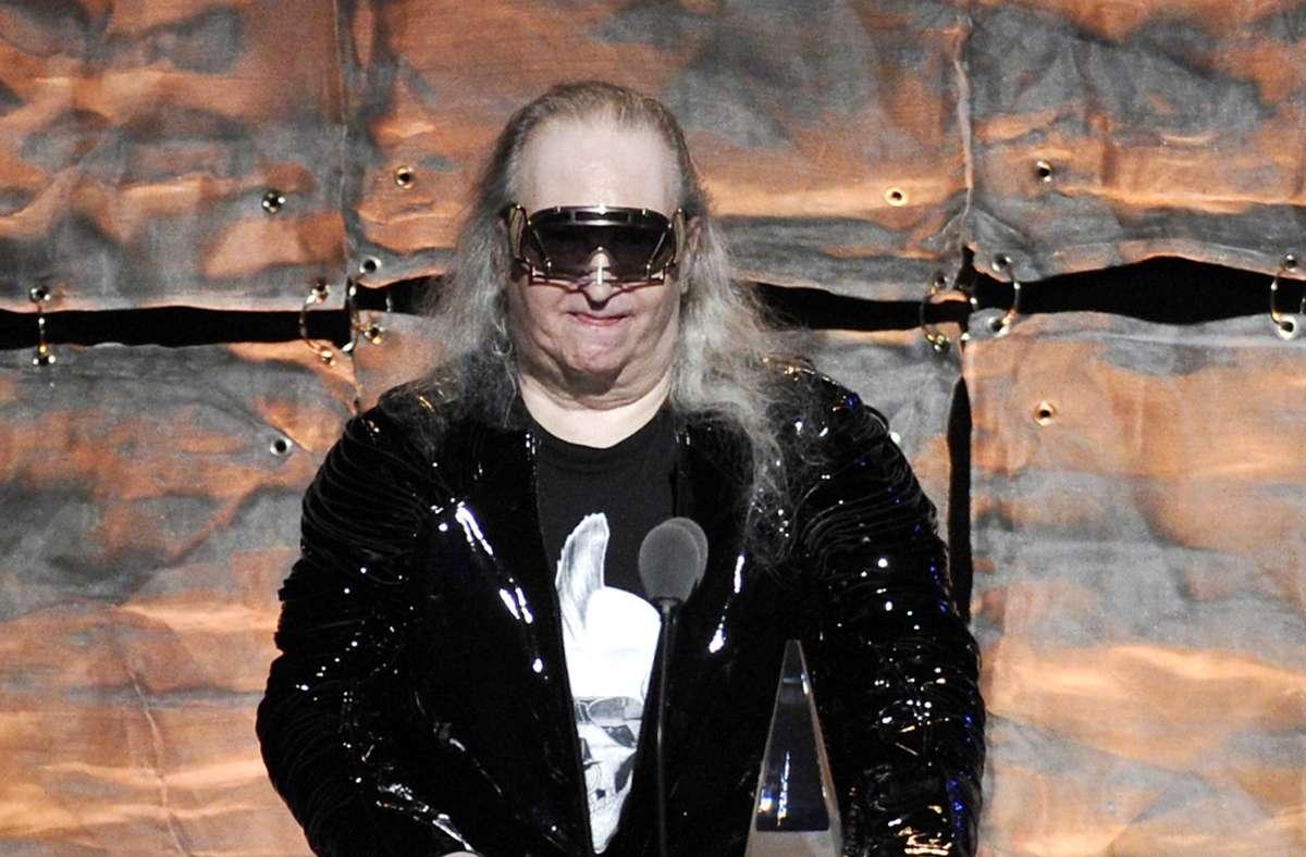 "Jim Steinman bei der Gala ""2012 Songwriters Hall of Fame"". Foto: dpa/Evan Agostini"