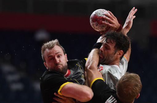 Deutsche Handballer verlieren gegen Spanien