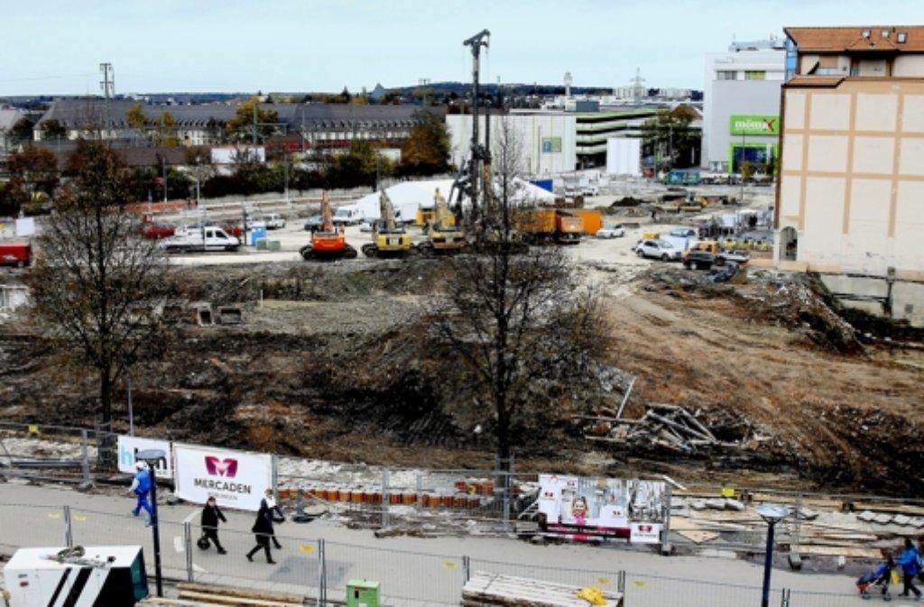Die Böblinger Unterstadt wurde platt gemacht. Foto: factum/Granville