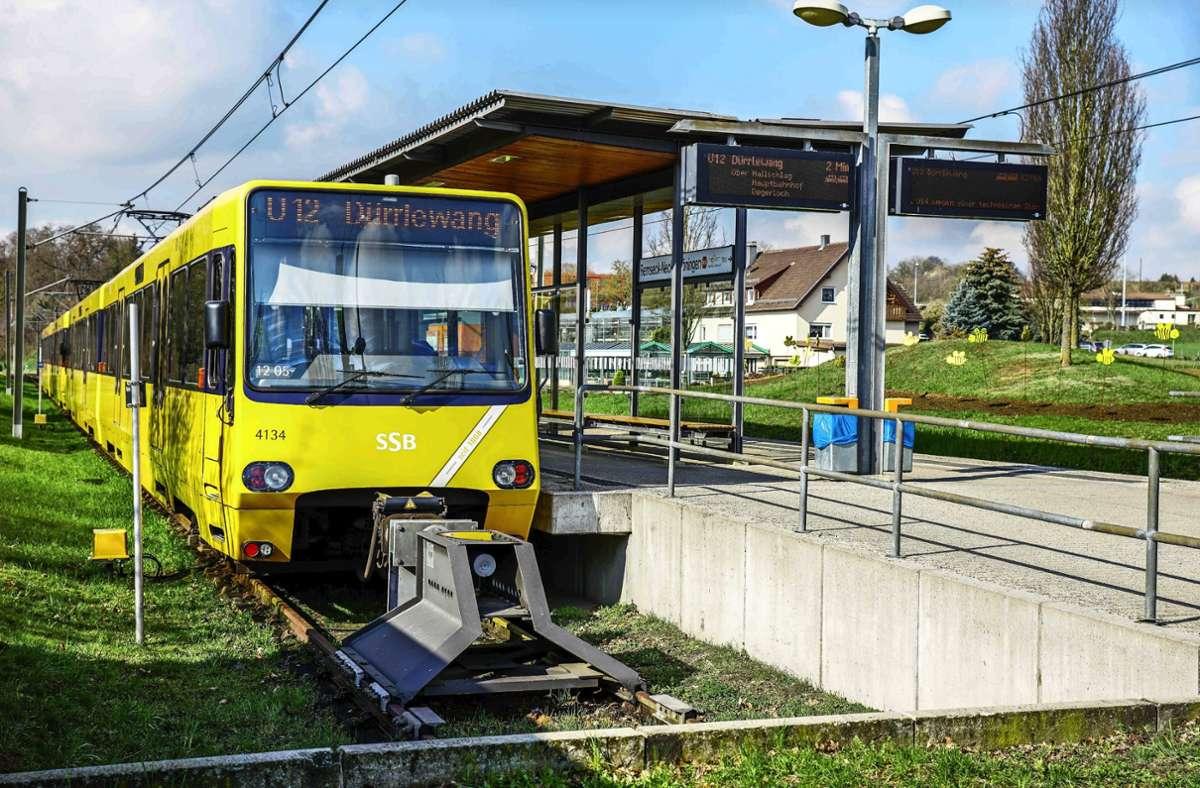 Von Remseck aus geht's aktuell nur zurück, in Zukunft weiter nach Ludwigsburg. Fragt sich nur, mit welchem Bahntyp. Foto: SDMG/Kohls