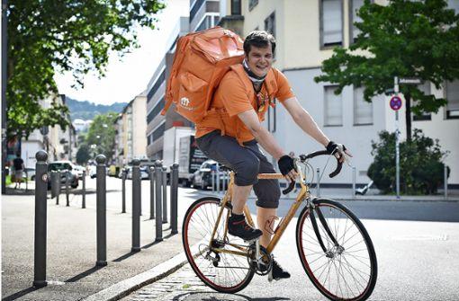 Trotz Mathe-Studium:  Lieber Fahrradkurier als Bürojob