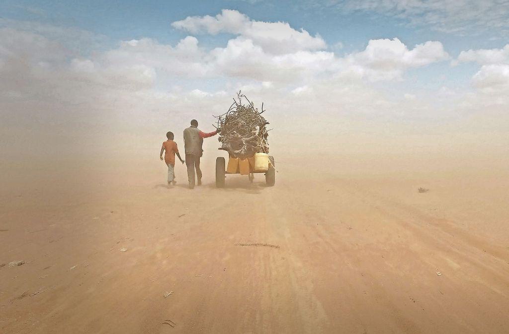 """Flüchtlinge in Afrika – Szene aus Ai Weiweis """"Human Flow"""" Foto: Verleih"""