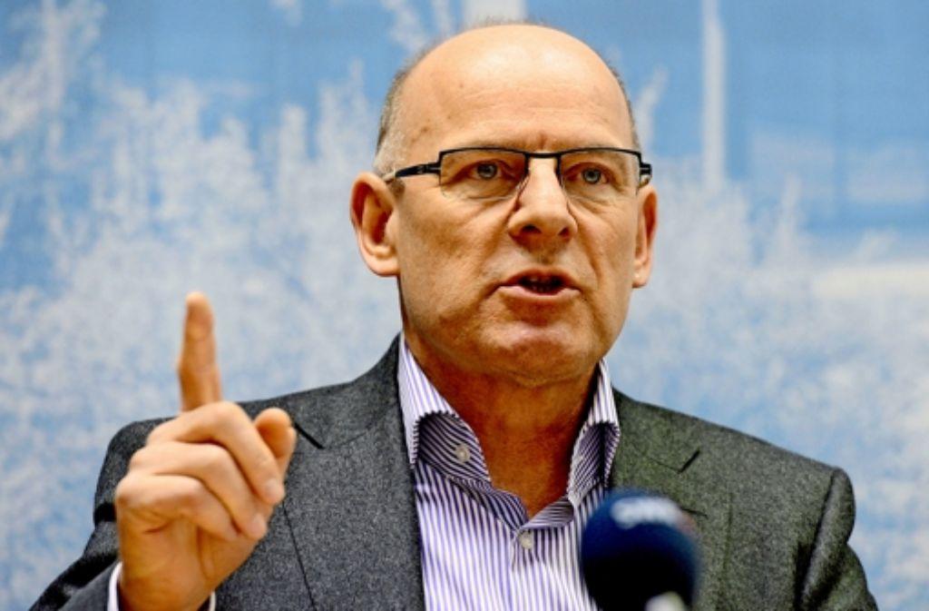 Eine von Minister Hermann in Auftrag gegebene  Studie über die Personenströme am neuen Tiefbahnhof sorgt für Irritationen. Foto: dpa