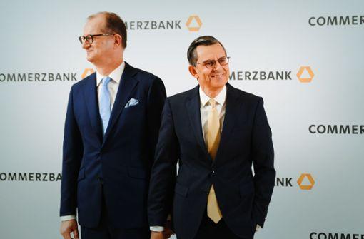 Börse setzt bei Commerzbank auf Neuanfang