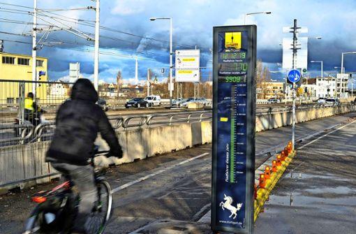 Mehr als eine Million Radfahrer  am Neckar gezählt