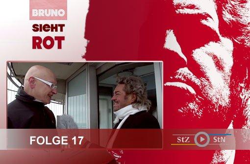 Bruno sieht rot: Hoch oben mit Holger Fischer