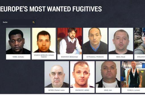 Europol sucht gefährlichste Sexualverbrecher