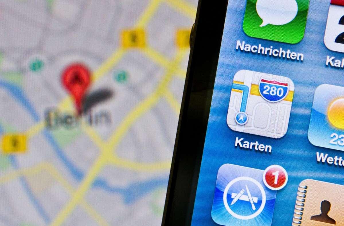 Navigationsdienste bieten nicht nur Hilfe bei der Orientierung. Foto: dpa