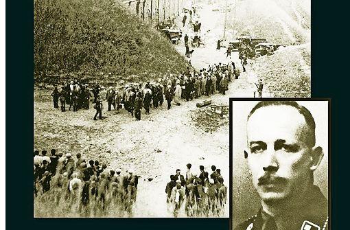 Karl Jäger (Foto) war in Waldkirch beliebt.Viele wollten nach dem Krieg nicht glauben, dass dieser Mann in Litauen zum kalten Sachwalter, Kommandeur und Vollstrecker des Todes geworden sein sollte. Foto: Fischer-Verlag