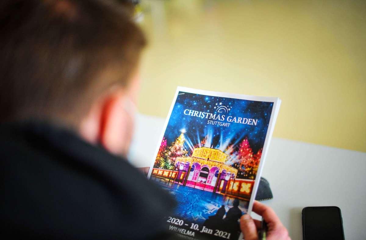 Der Christmas Garden lockt auch 2020. Foto: Lichtgut/Max Kovalenko