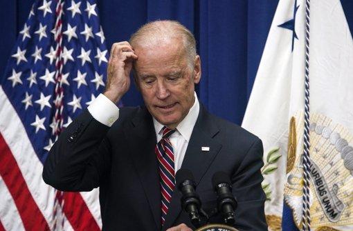 Vizepräsident Biden bewirbt sich nicht um Präsidentschaft