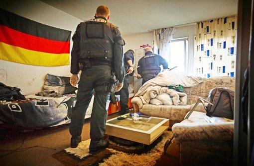 Flüchtlinge kritisieren Polizeiaktion
