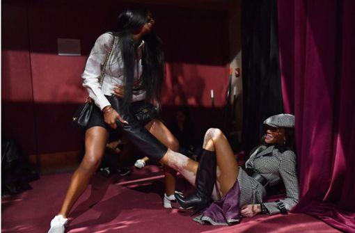 Inklusive Mode und Schuhe, die selbst Supermodels fordern