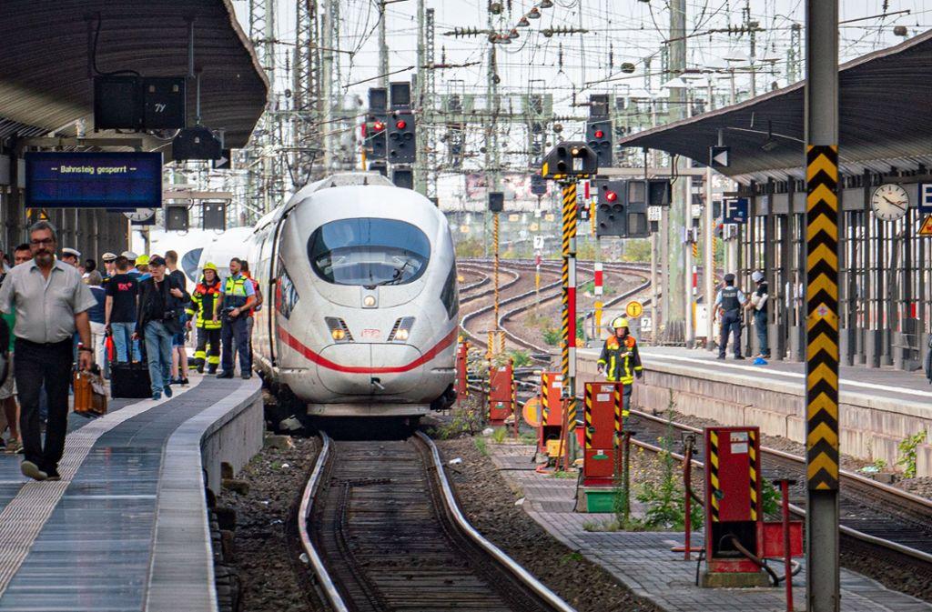 Die Bundespolizei reagiert auf die Gewalttat vom Frankfurter Hauptbahnhof. Foto: dpa