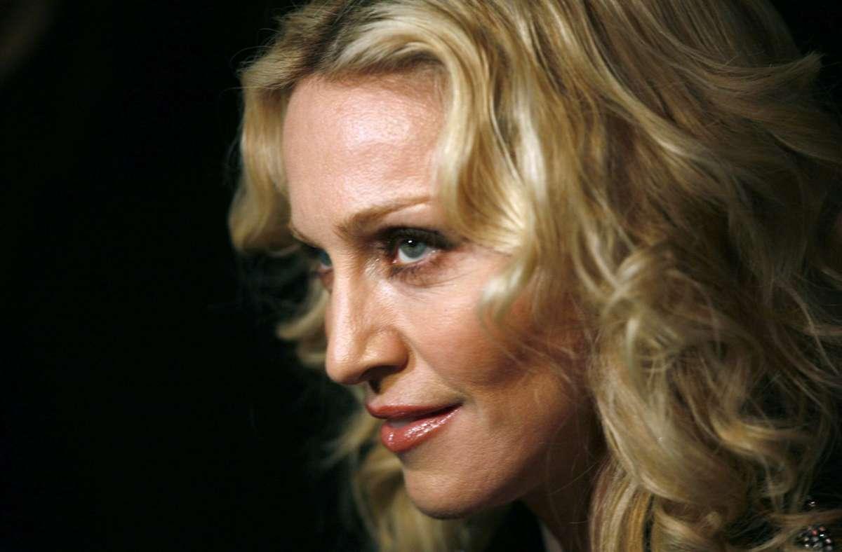 Ein Leben wie eine Achterbahnfahrt: Madonna Foto: dpa/Jan Woitas