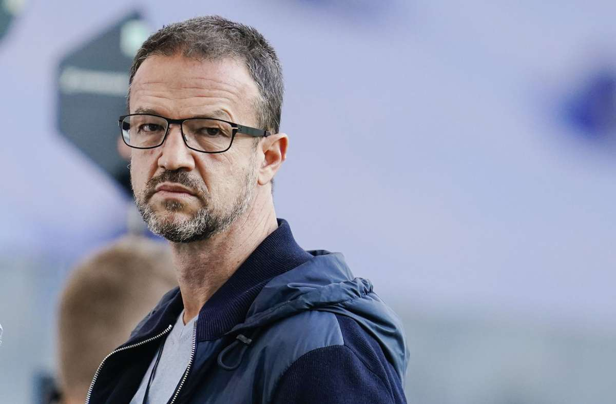 Fredi Bobic ist ein Wunschkandidat von Hertha BSC. Foto: dpa/Uwe Anspach