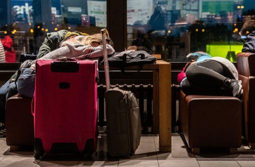 Terminal 2 am Flughafen teilweise gesperrt