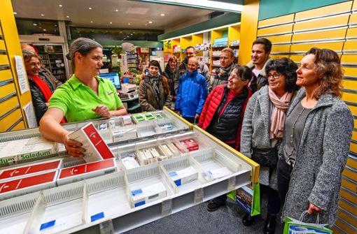 Örtliche Geschäfte lassen hinter die Kulissen blicken