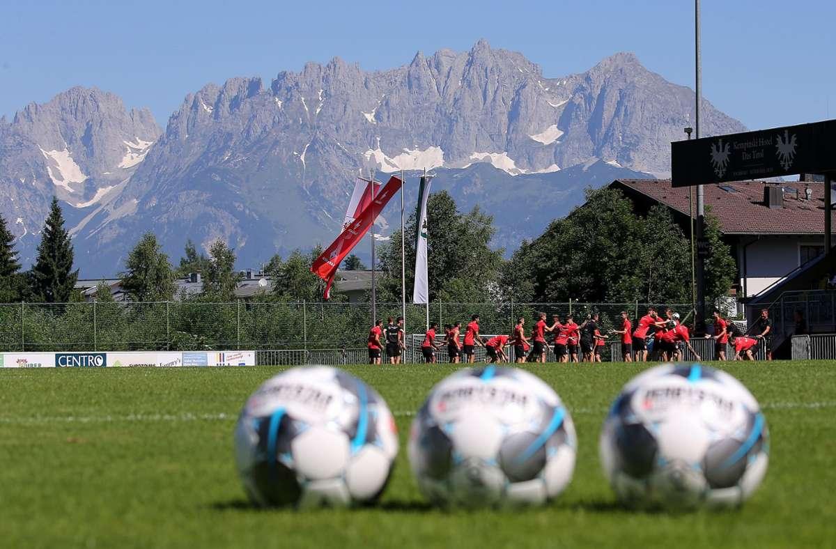 Wie schon im letzten Jahr macht der VfB auch in diesem Sommer in Kitzbühel Station. Foto: Baumann