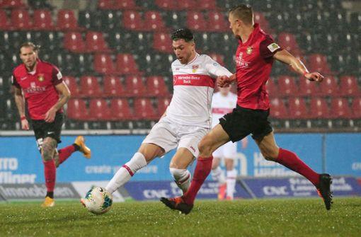 VfB Stuttgart II nimmt die Hürde bei der SG Sonnenhof Großaspach souverän
