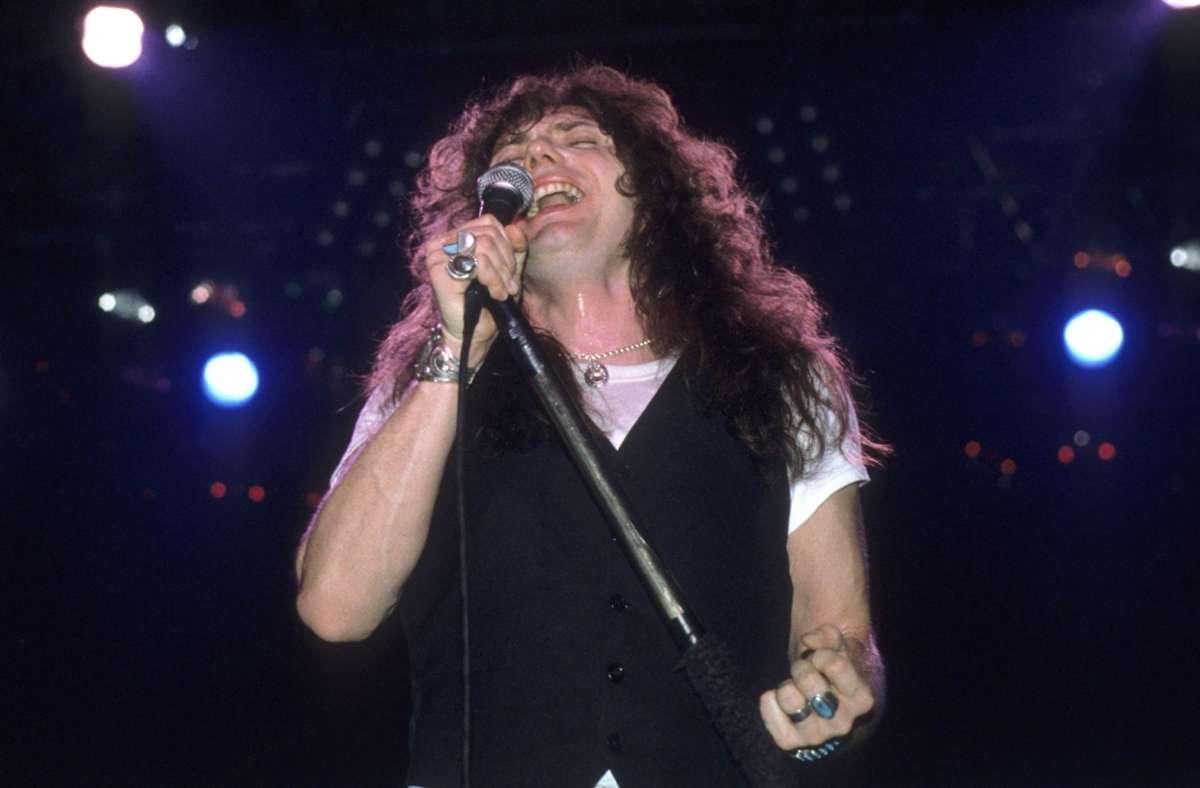 David Coverdale 1984 bei einem Whitesnake-Konzert Foto: imago images/Future Image/Rudi Keuntje