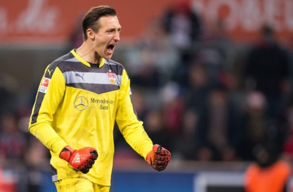 Przemyslav Tyton ist aktuell die unumstrittene Nummer eins beim VfB Stuttgart. Sein Marktwert liegt unverändert bei 2,5 Mio. Euro. Foto: dpa