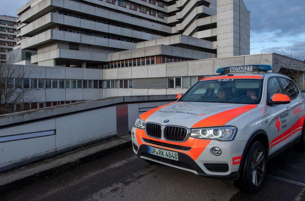In einer Klinik in Göppingen wurde der erste Corona-Fall in Baden-Württemberg bestätigt. Foto: dpa/Stefan Puchner