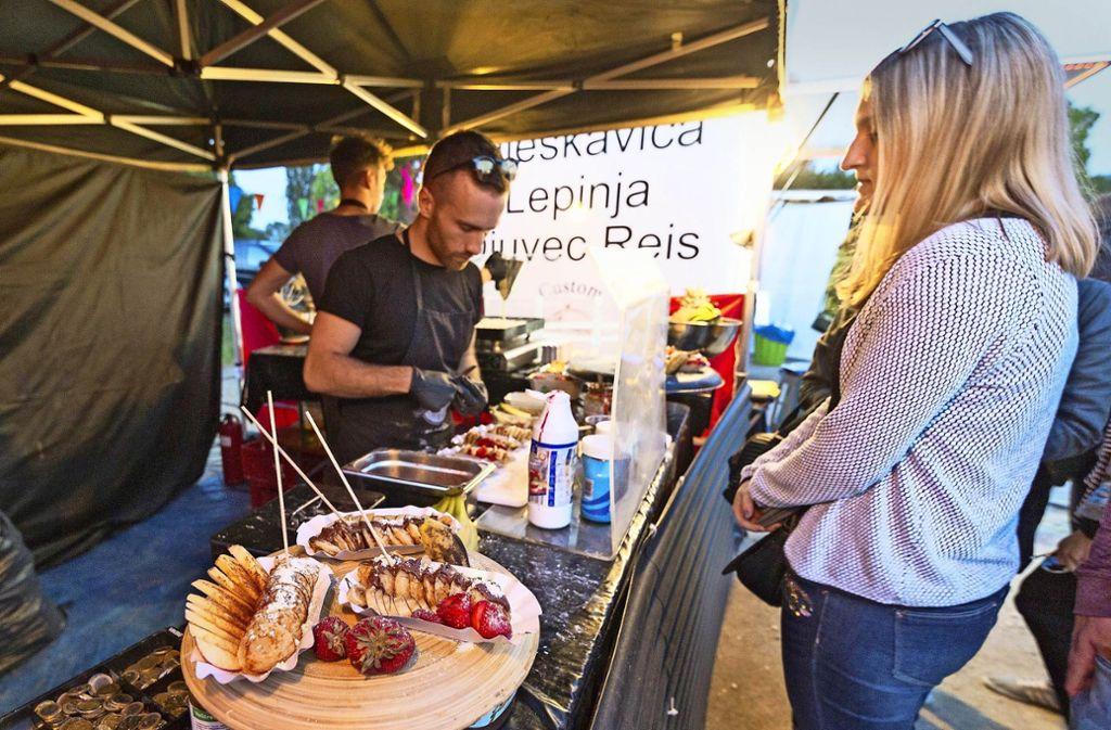 In Kirchheim ist das dortige Street-Food-Festival längst etabliert Jetzt sollen auch die Esslinger  im Juni in den Genuss des neuen Angebots kommen. Foto: 7aktuell.de/Daniel Jüptner