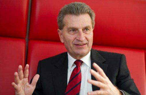 Oettinger ist für Volksentscheid