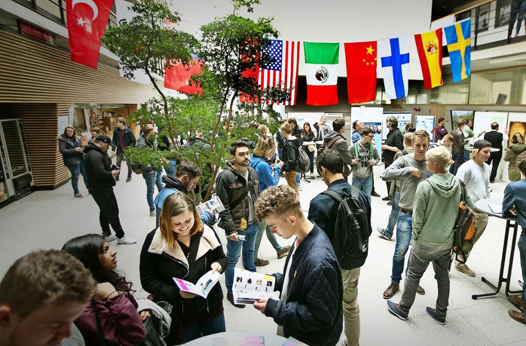 Bislang studieren rund 1000 junge Menschen am Standort Göppingen der Hochschule Esslingen. Foto: /Horst Rudel