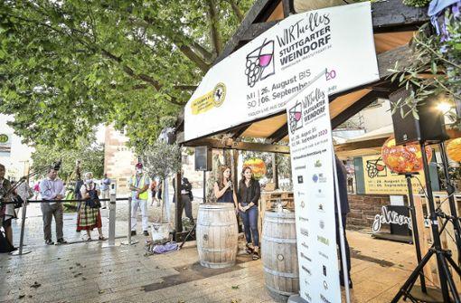 Das erste virtuelle Weindorf ist eröffnet
