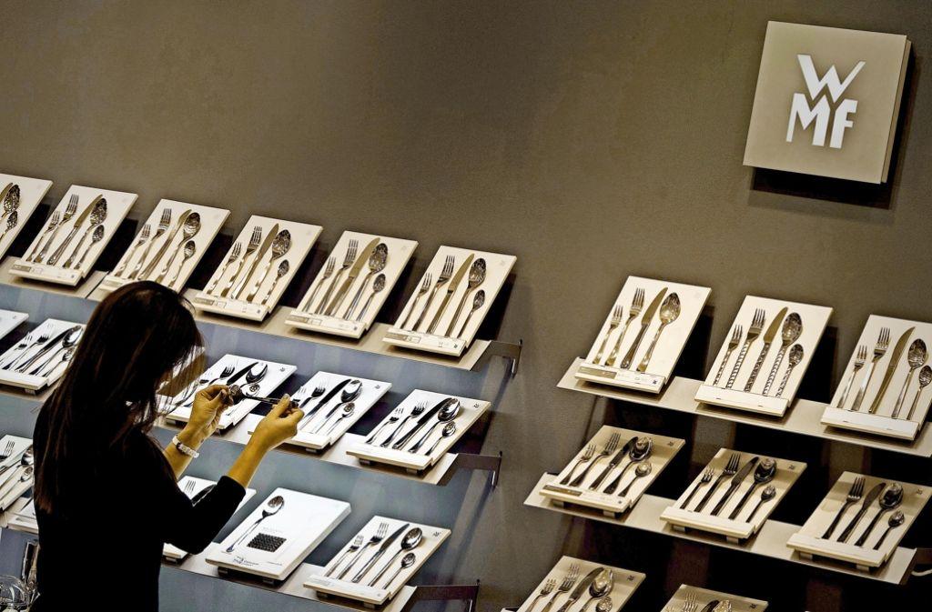 """Besteck der Marke """"WMF"""" wird künftig unter dem Dach der französischen SEB-Gruppe verkauft. Foto: dpa"""