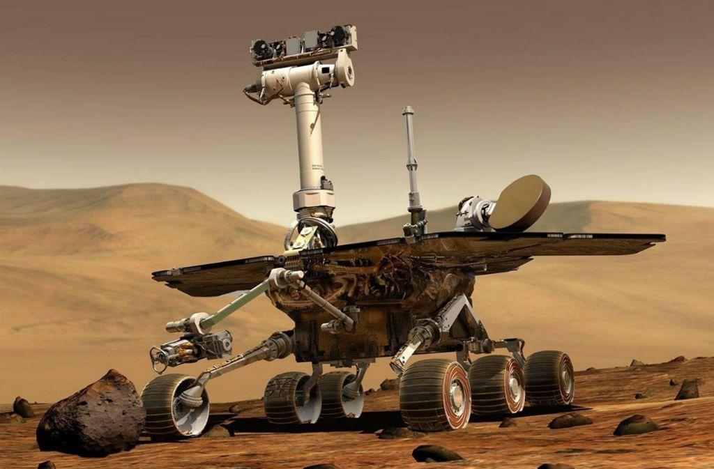 Der Marsrover Opportunity hat viel länger gearbeitet als erhofft. Foto: dpa