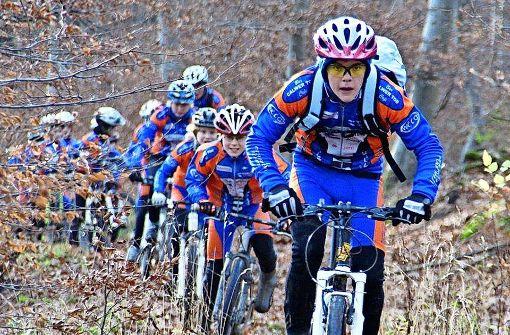 Mountainbike-Elite  trifft sich in Warmbronn