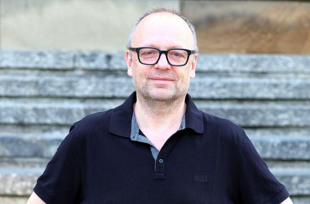Der Boss: Stuttgarts neuer Schauspielintendant Burkhard C. Kosminski (57) hofft auf Theaterwunder zum Saisonstart. Foto: dpa