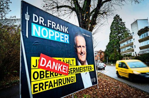 Warum OB-Kandidat Völker das Wahlergebnis anfechten will