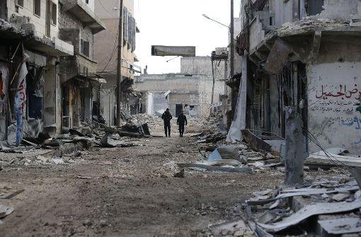 Offenbar Einigung auf Waffenruhe in Syrien