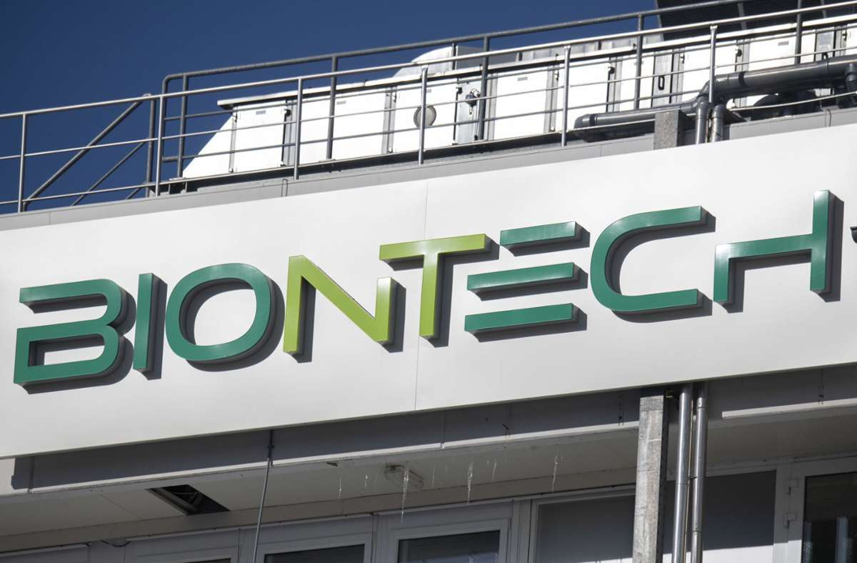 Das Mainzer Pharmaunternehmen Biontech. Foto: dpa/Boris Roessler