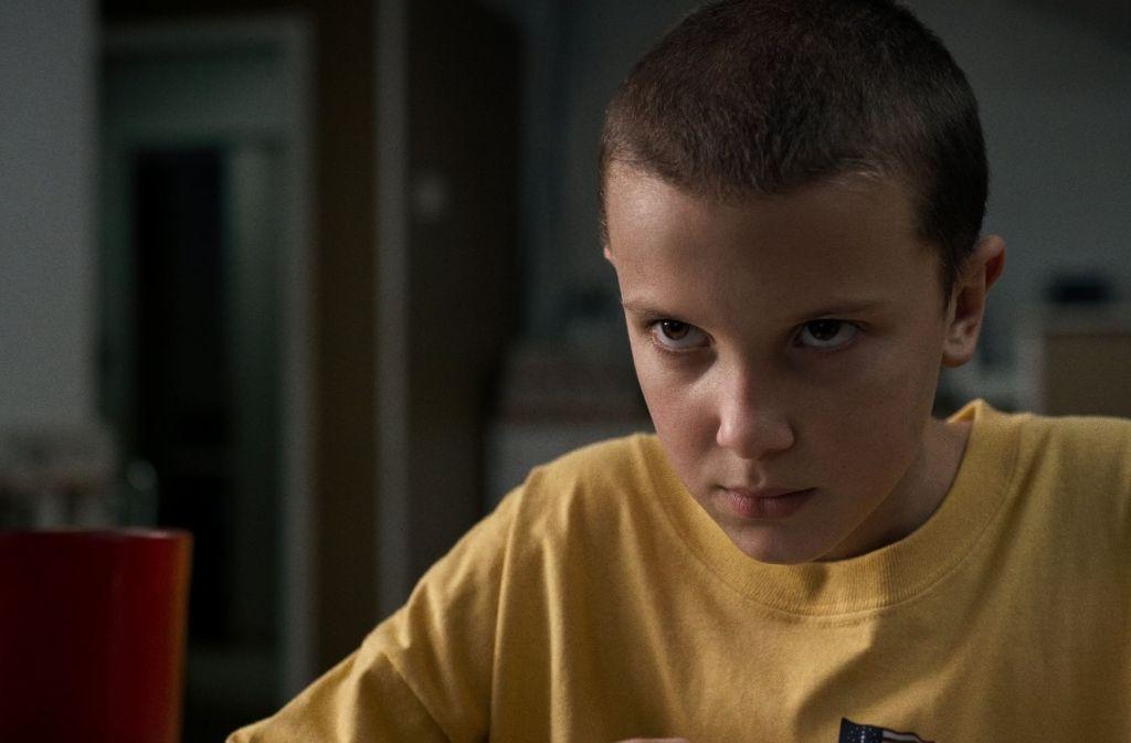"""""""Elfie"""" (Millie Bobby Brown) besitzt telephatische Kräfte. Foto: Netflix"""