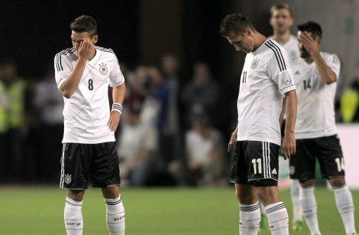DFB-Elf startet unglücklich in WM-Saison