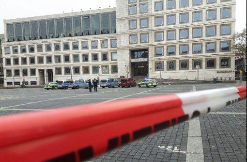 Stuttgarter Rathaus wurde geräumt