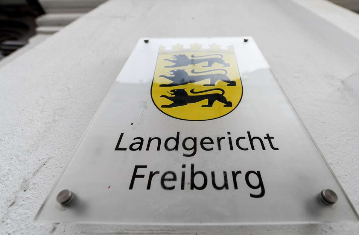 Das Landgericht Freiburg hat auch ohne Bilder aus der Überwachungskamera keine Zweifel an der Täterschaft. Foto: dpa/Patrick Seeger