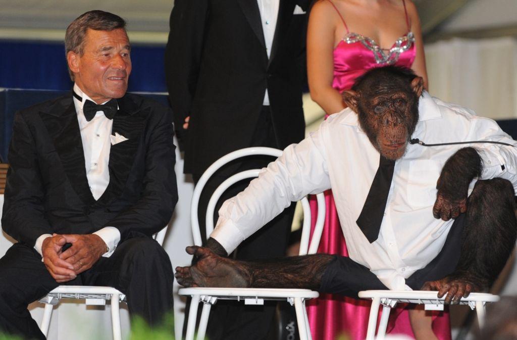 Trigema-Chef Wolfgang Grupp hat bekanntgegeben, dass der Modehersteller bald wieder mit einem Schimpansen werben will. Foto: dpa