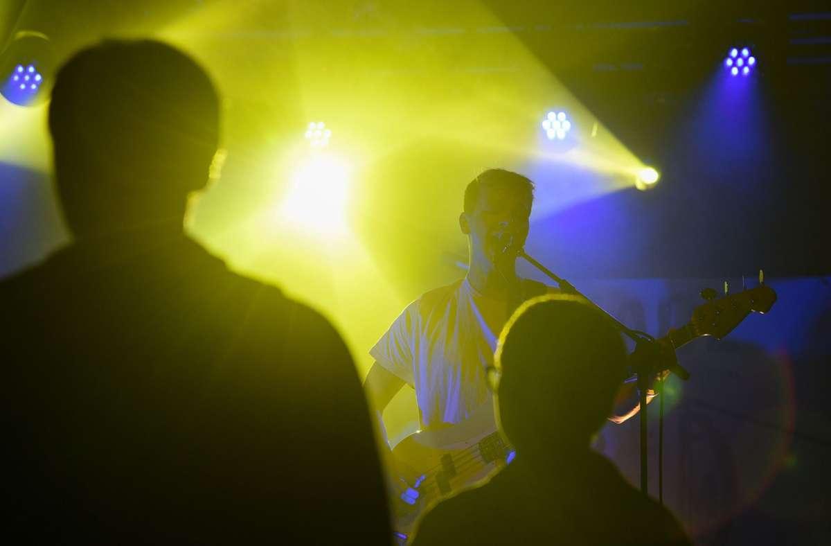 """Junge Musik-Kultur in Sindelfingen beim """"Di is schade""""-Festival. Foto: Kreiszeitung Böblinger Bote/Thomas Bischof"""